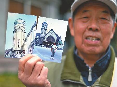 济南75岁老人曹立沛守护大钟30年