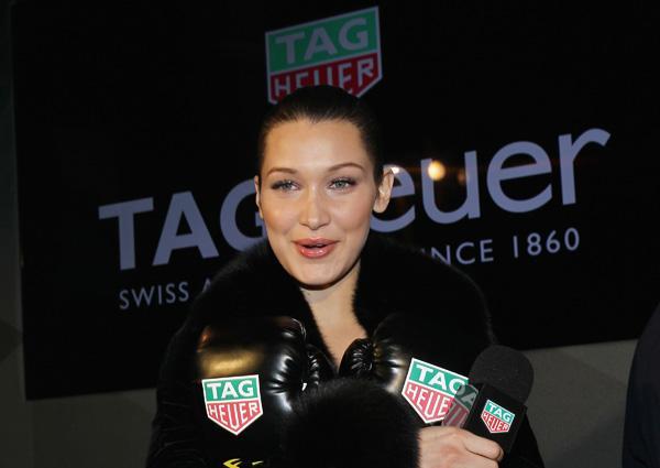 贝拉·哈迪德加入TAG Heuer泰格豪雅大家庭!