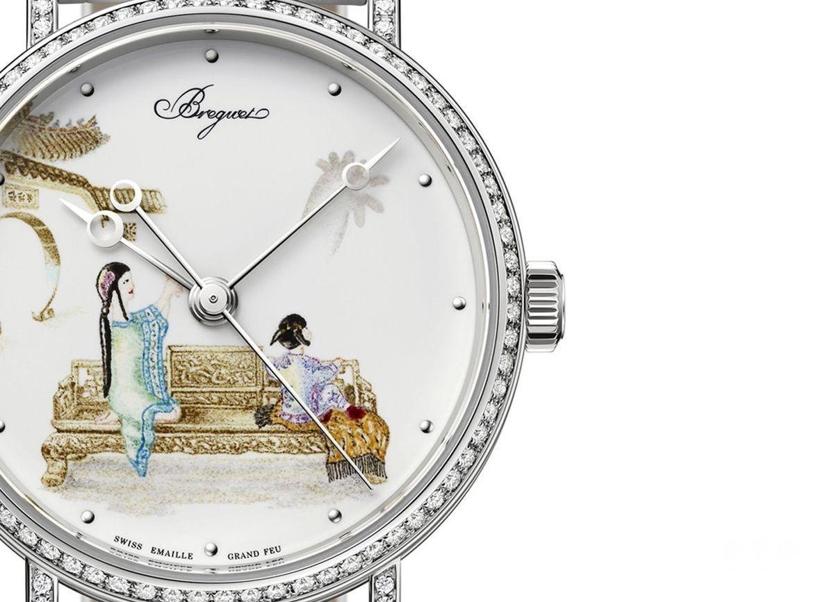 微绘珐琅稀世工艺:宝玑Classique 9078珐琅彩绘腕表
