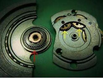 机械腕表的工作原理