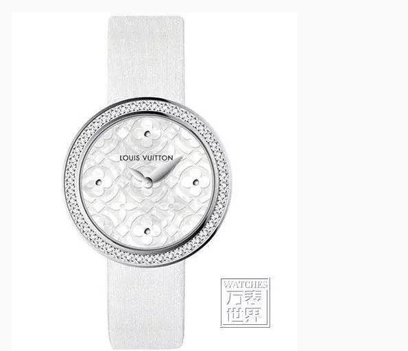 推荐腕表:Louis Vuitton Dentelle de Monogram腕表