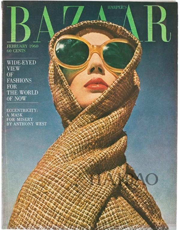 《Harper's Bazaar》1960年2月刊封面