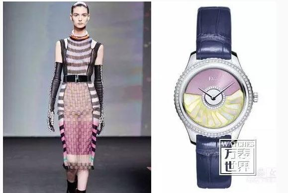 推荐腕表:Dior VIII Grand Bal Plisse Soleil 36毫米款
