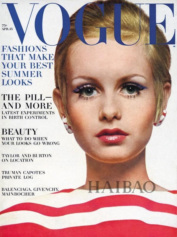 《Vouge》1967年4月刊封面