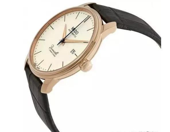 4、美度-贝伦赛丽 Herigage永恒系列复刻象牙白腕表